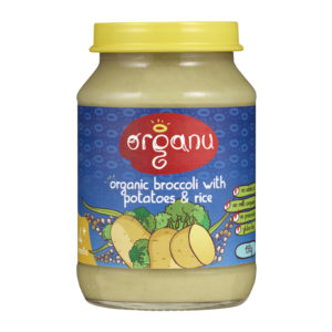 Jar - Organic Broccoli - May 2016