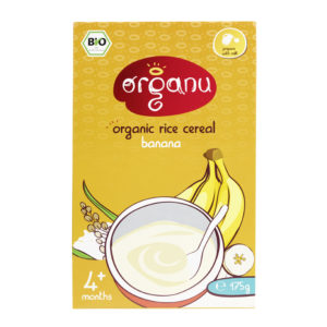 Cereal - Organic Rice Banana - May 2016