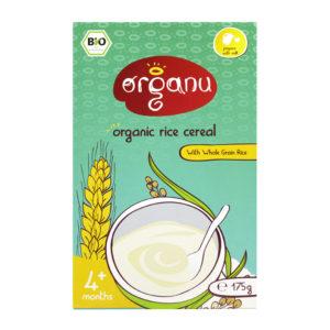 Cereal - Organic Rice - May 2016